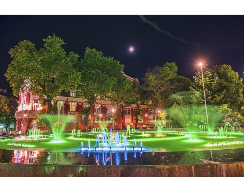 The Singing Fountain on Nezavisimost Square