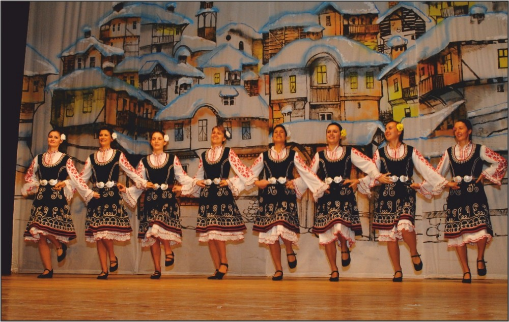 Charity Folklore Concert of Dance Club Moryatsite