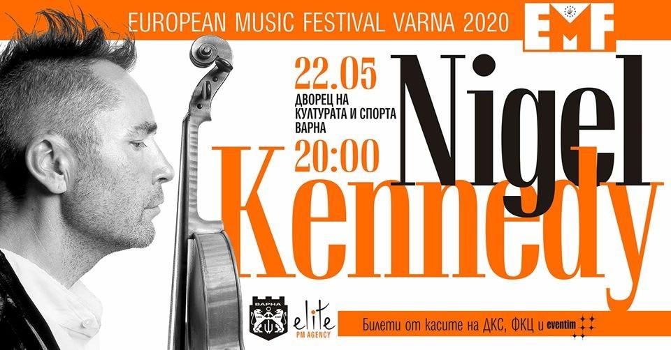 Nigel Kennedy's World Premiere in Varna!