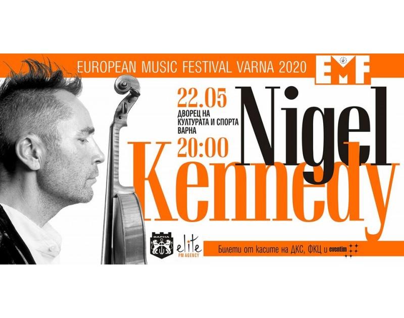 Световна премиера на Найджъл Кенеди във Варна!