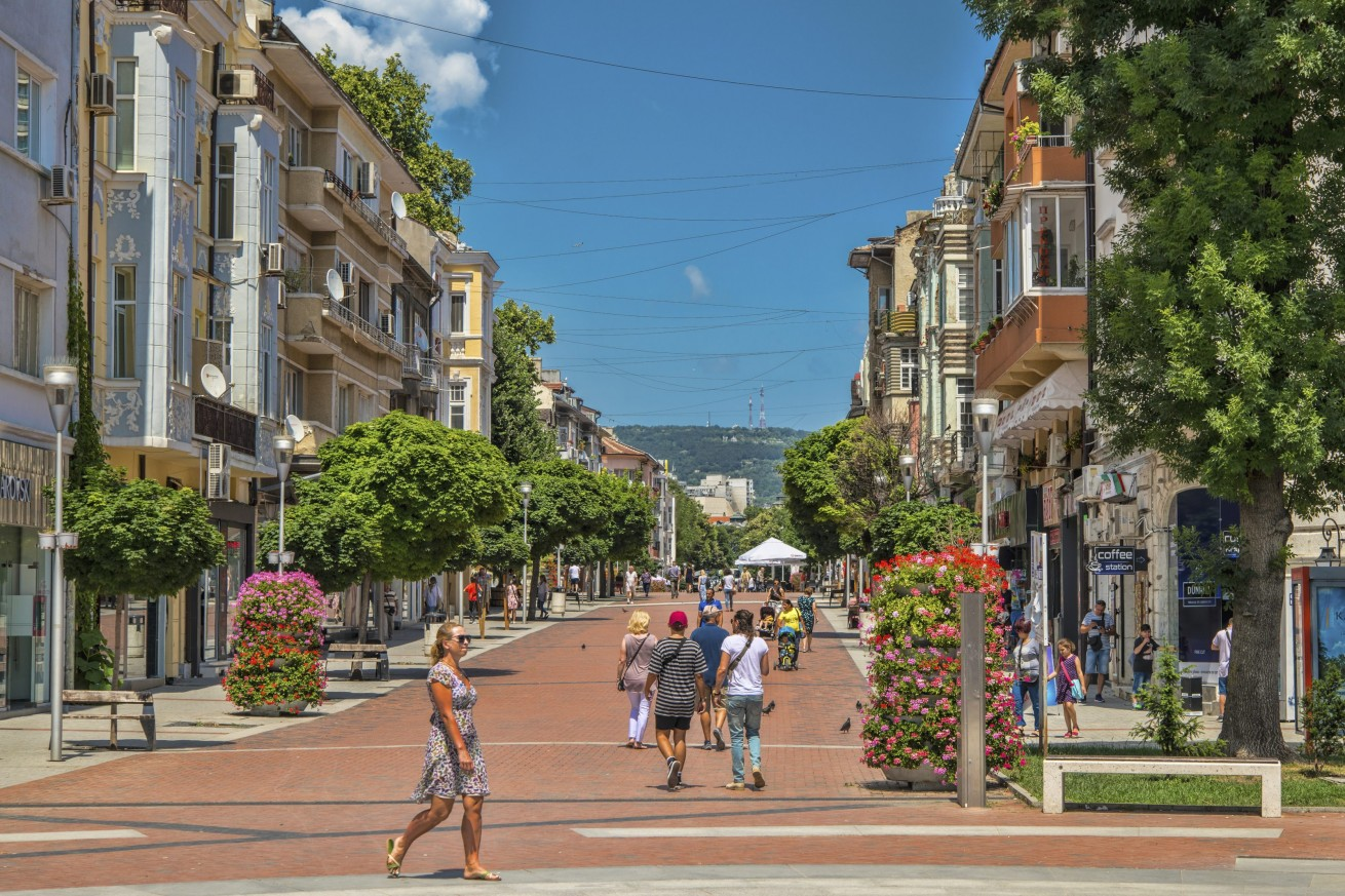 Main Pedestrian Zone