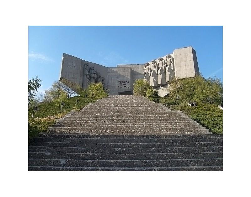 Das Denkmal von bulgarisch-sowjetischer Freundschaft