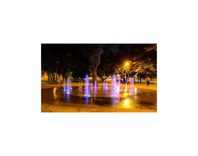 La fontaine séche - Le jardin de ville