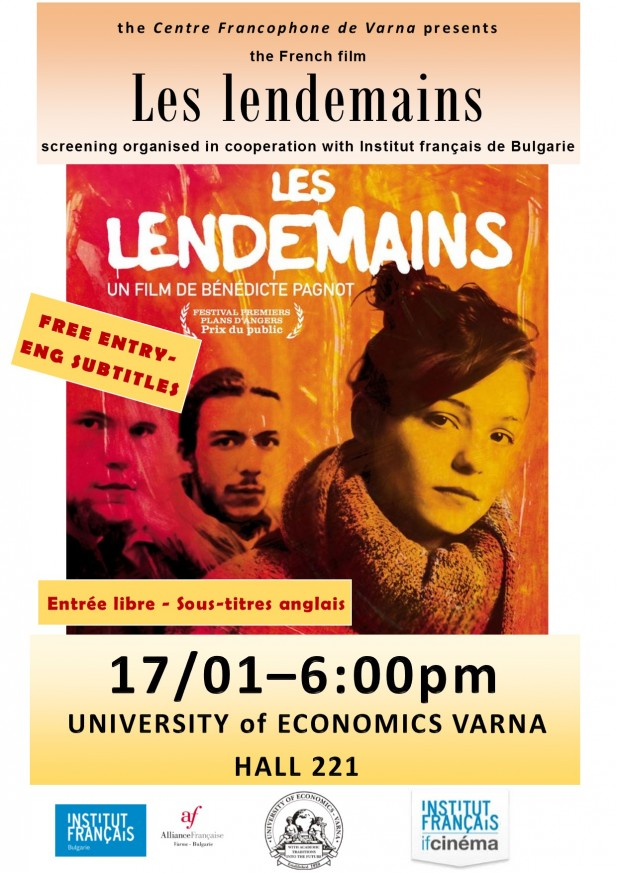 Projection du film  Les lendemains