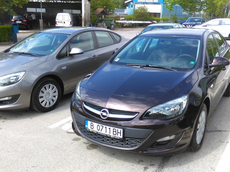 New Opel Astra automatic