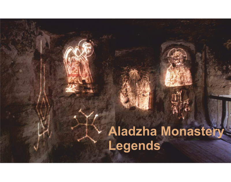 Audio-visual show Aladzha Monastery Legends