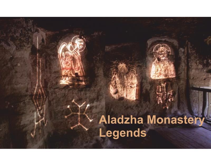 Spectacle audiovisuel Légendes d'Aladzha monastère