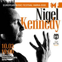 Nigel Kennedy in Varna
