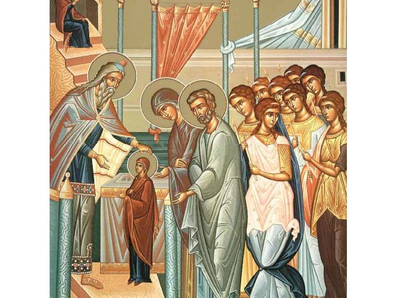 ВВЕДЕНИЕ  БОГОРОДИЦЫ. ДЕНЬ ХРИСТИЯНСКОЙ СЕМЬИ