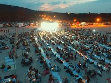 Най- дългата вечеря на плажа