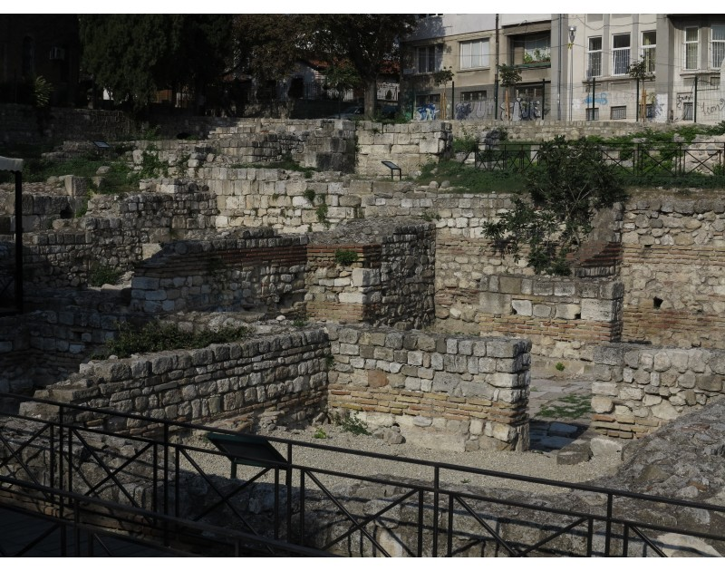 Small (south) Roman Thermae /3rd and 6th century AD/