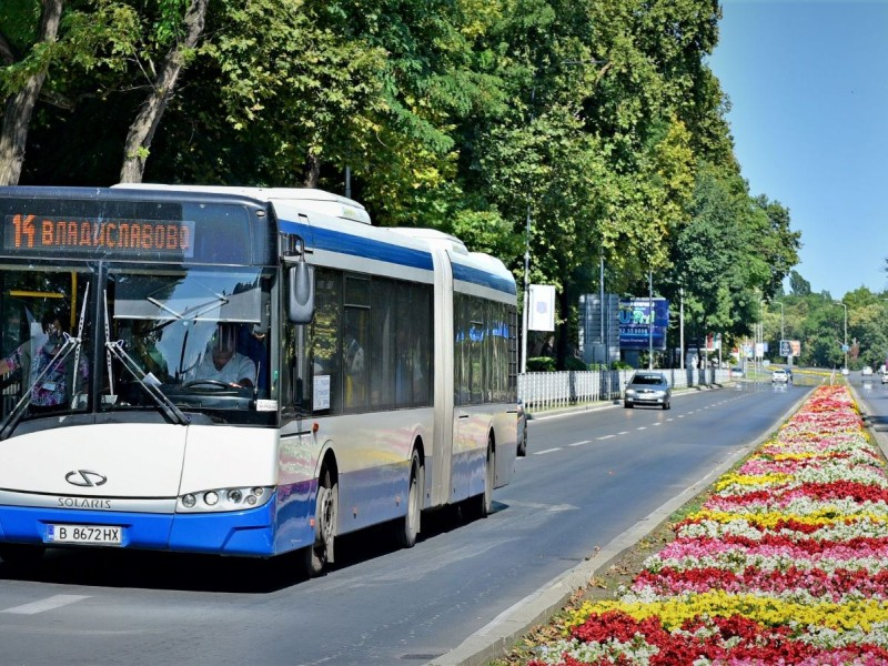 Public transport in Varna