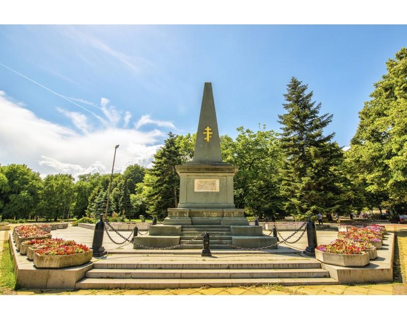 Памятник восьмому приморскому пехотному полку