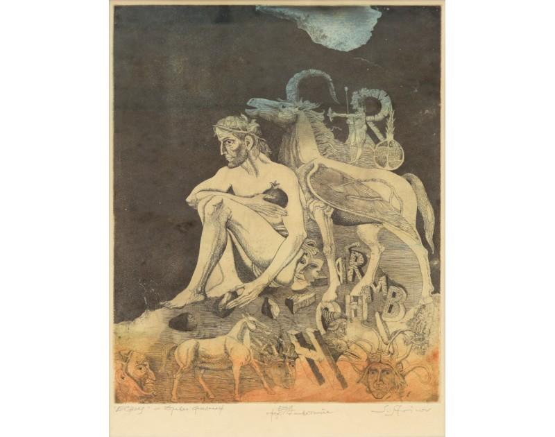 Международна графична изложба Из колекциите