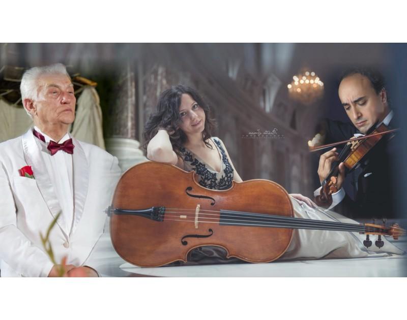 Concert symphonique - Mario Hossin – violin, liliana Kehayova Hossin – vioncello