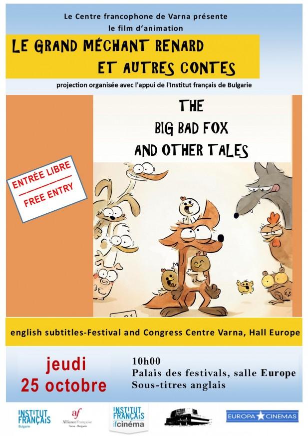 Le grand méchant renard et autres contes  - film d'animation pour enfants
