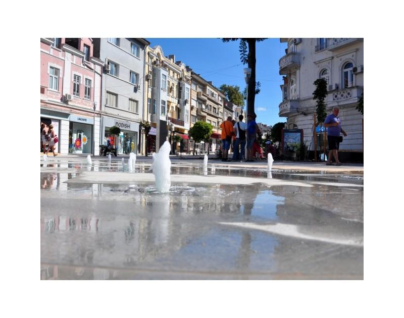 La fontaine séche - La place Bulgarie