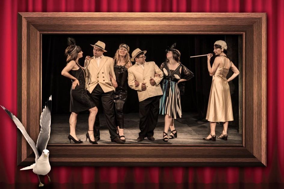 Гларус ретро кабаре - спектакъл за възрастни на Държавен куклен театър-Варна