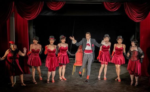 Гларус ретро кабаре - спектакъл за възрастни на Държавен куклен театър Варна