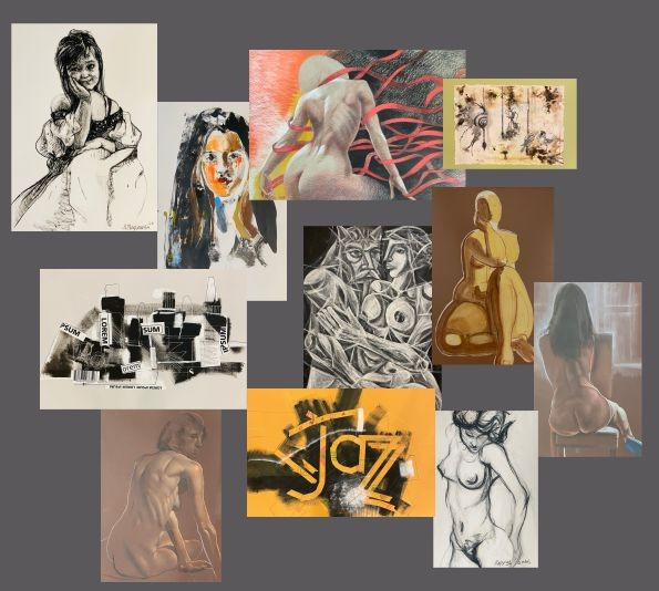 """""""Лирични рисунки - изкуство на хартия"""", изложба"""