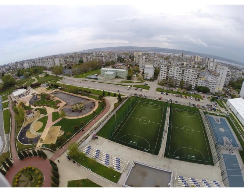Le Complexe municipal de sports et divertissements Mladost