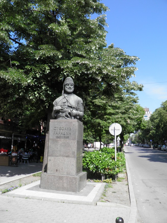 Паметник на Стефан Караджа Варна