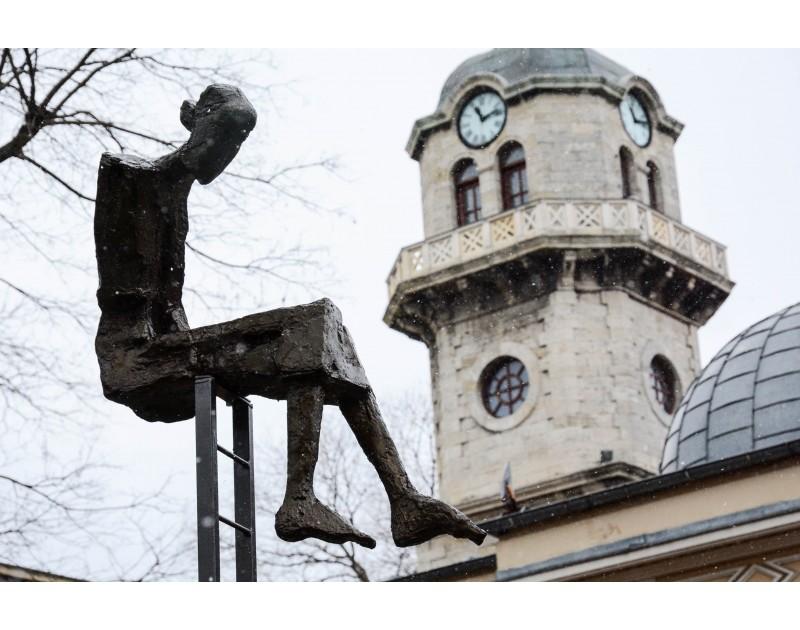 Скулптура Сценка