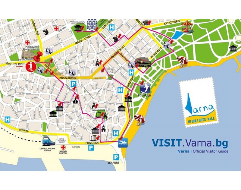 Бесплатная пешая экскурсия по центру города Варны