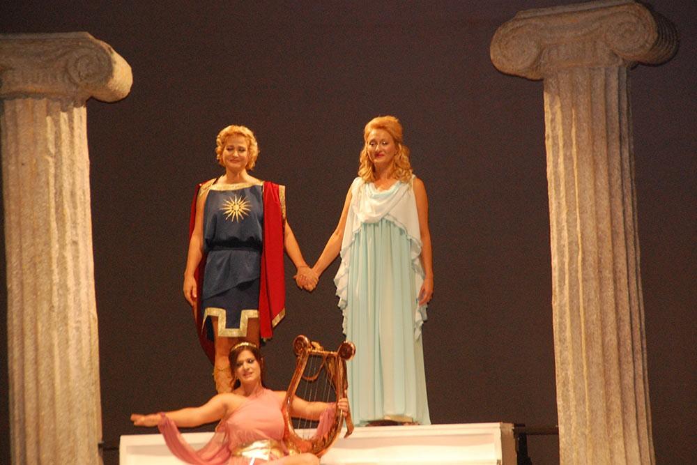 Орфей и Евридика - музикально - танцовый спектакль
