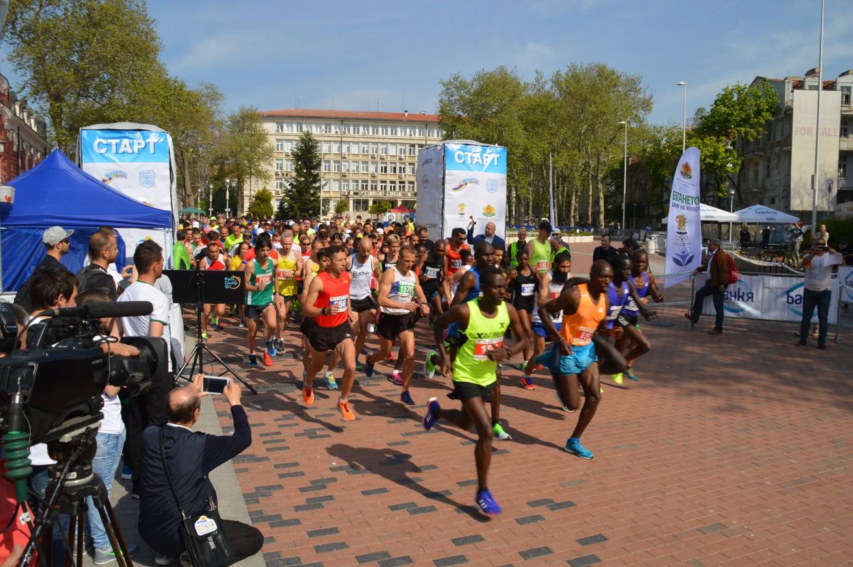 Международен Лекоатлетически маратон Варна 2020