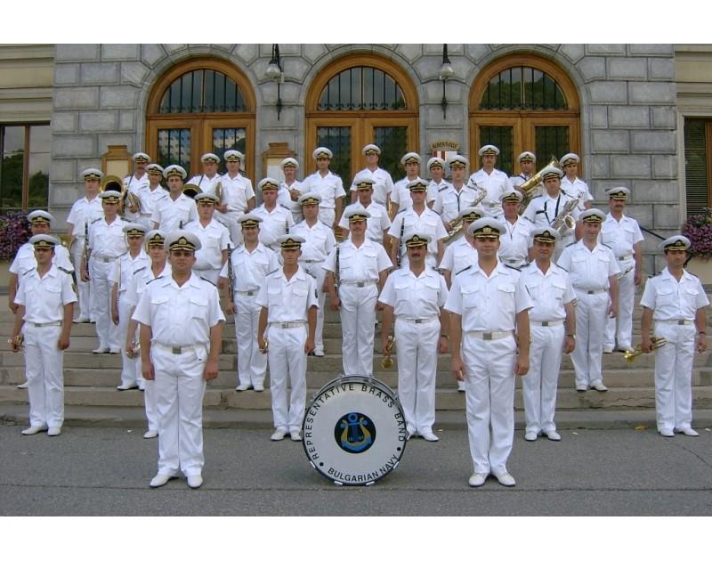 Концерт на представителния духов оркестър на ВМС