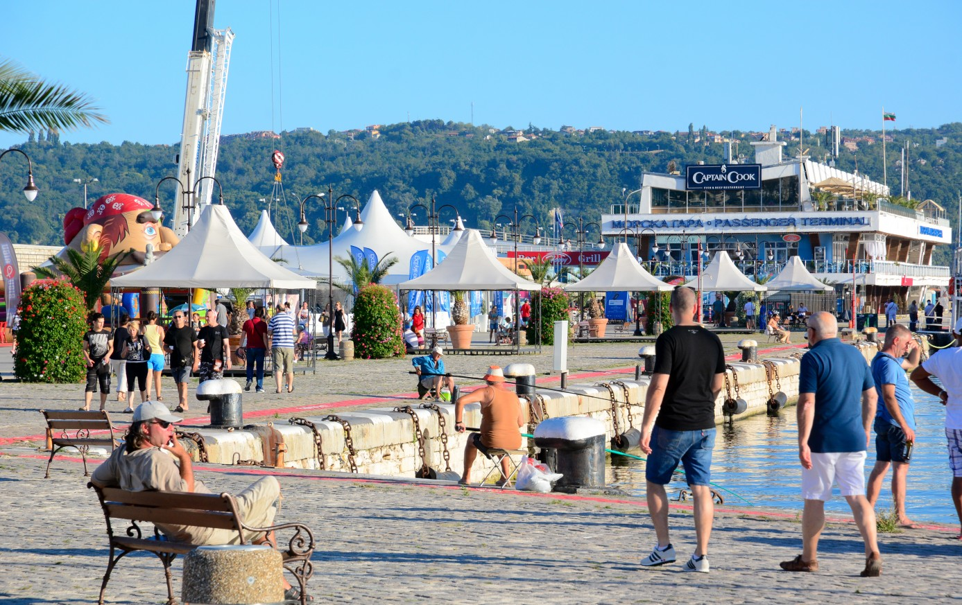 Recreational and Entertainment Zone at the Port of Varna