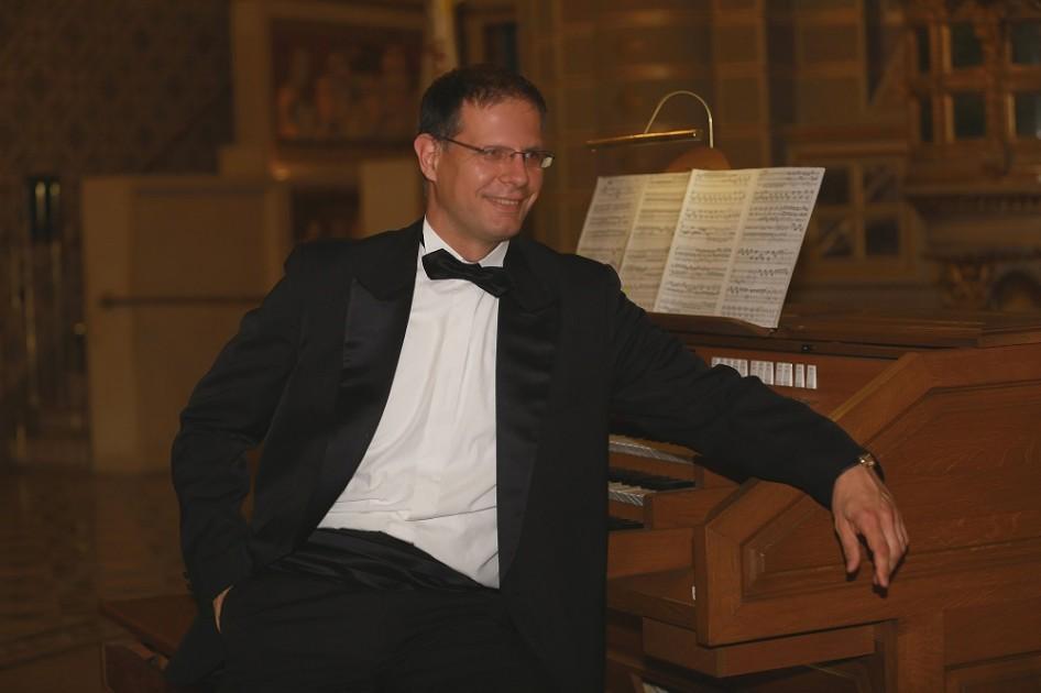 Concert d'orgue de Pâques de Szabolcs Szamosi, Hongrie