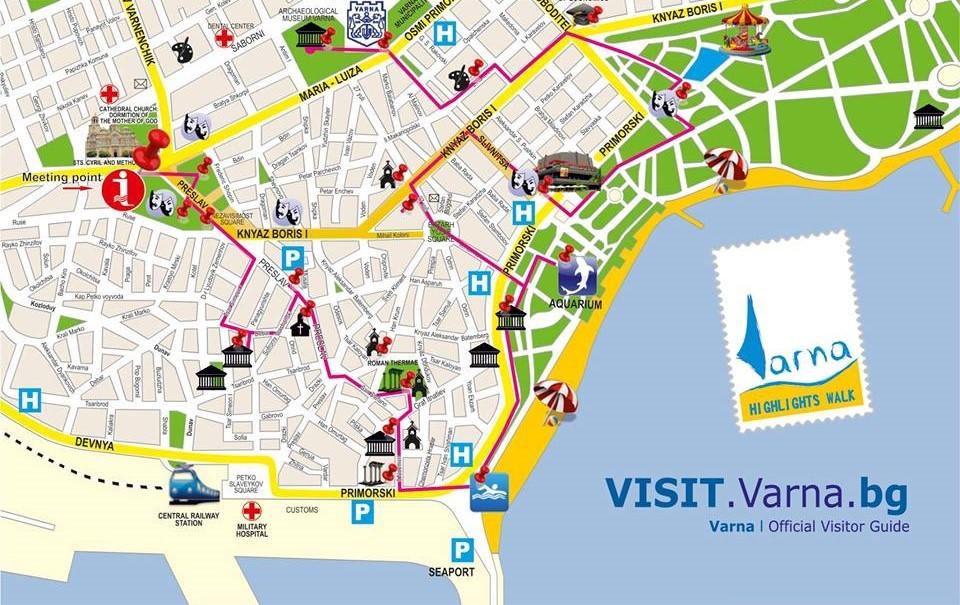 Пешеходна обиколка на Варна с eкскурзовод