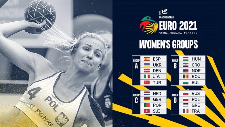 Championnat d'Europe de handball de plage pour hommes et femmes