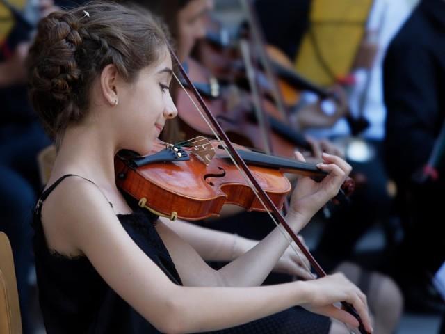 Концерт на оркестъра на НУИ Добри Христов