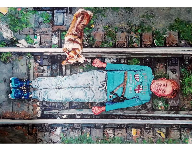 ТИХИ БУНТОВЕ, изложба на Антон Терзиев