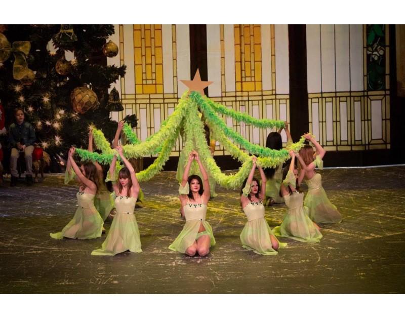 Коледен концерт на танцов клуб Електра