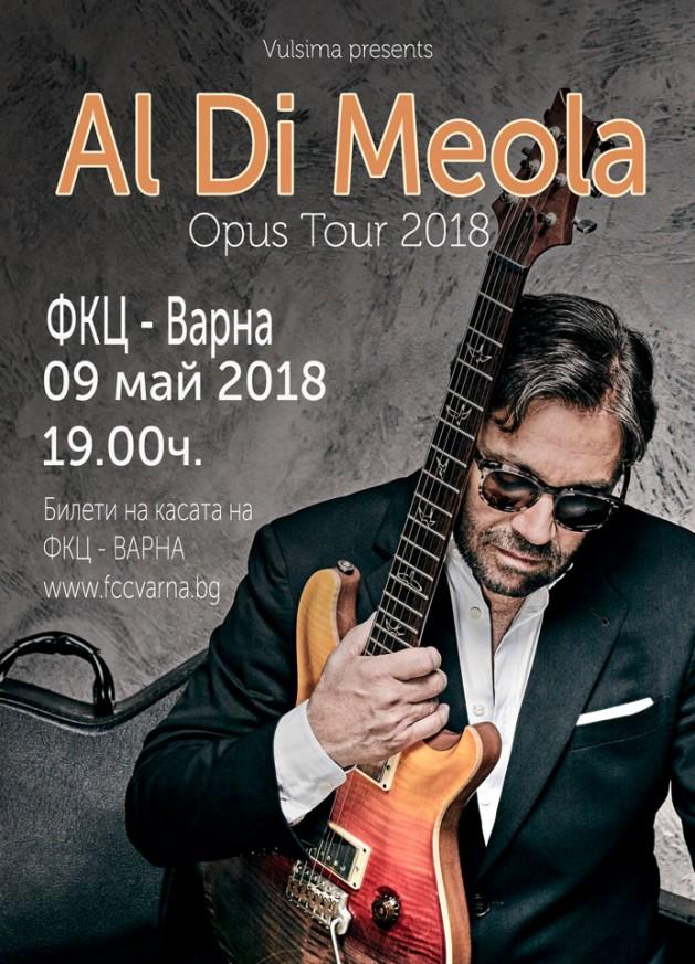 Al Di Meola in Varna