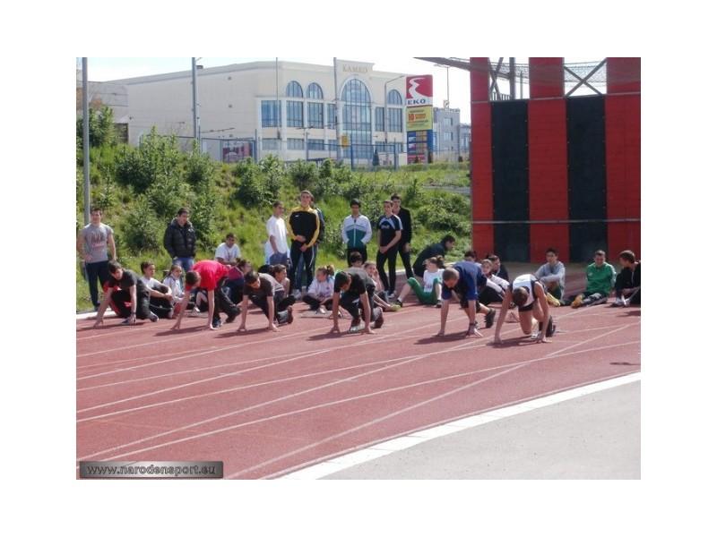 """Лекоатлетически турнир """" Ден на бягането"""