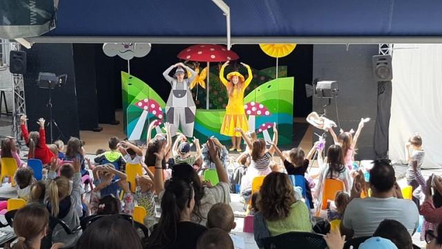 Представления 07.08 - 08.08, Държавен куклен театър Варна - лятна сцена