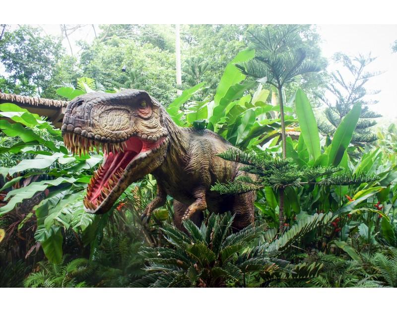 """""""Живите динозаври"""" - изложба на движещи се динозаври в реални размери"""