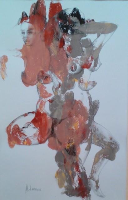 Самостоятелна изложба на Надежда Антова