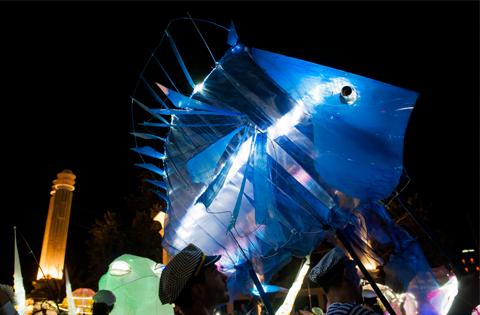The magic of the sea - street parade