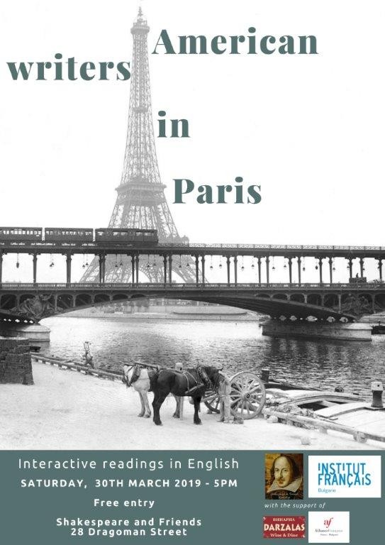American Writers in Paris