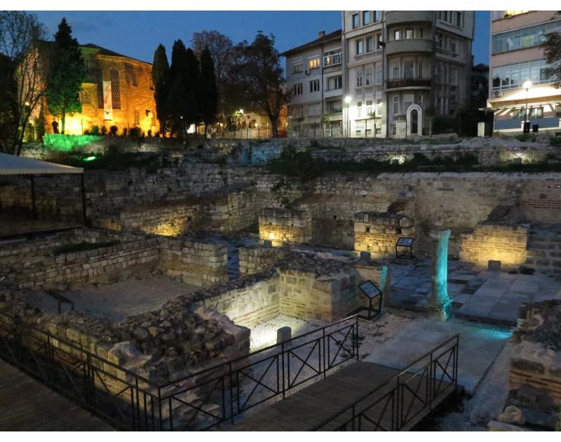 Малые Римские бани / III - VI в.н.э. Hr. /