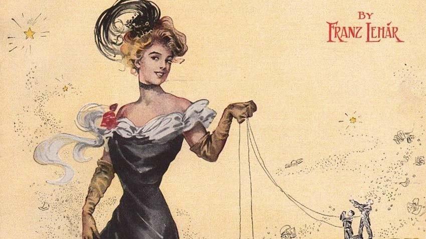 Веселата вдовица - оперета от Ф.Лехар