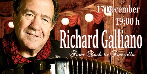 Richard Galliano  avec un concert à Varna