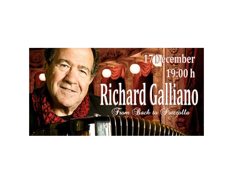 Richard Galliano's concert in Varna